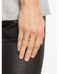 1-100 - Gray '77' Ring - Lyst