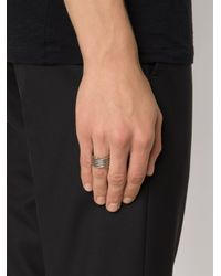 1-100 | Metallic '85' Ring | Lyst
