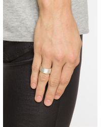 1-100 - Gray '87' Ring - Lyst