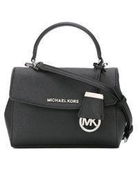 MICHAEL Michael Kors | Black Extra Small 'ava' Crossbody Bag | Lyst