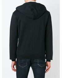 Dolce & Gabbana - Black Zip Hoodie for Men - Lyst