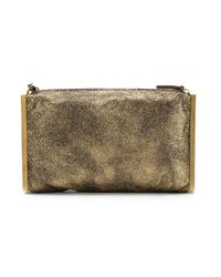 Lanvin - Metallic 'private' Clutch - Lyst