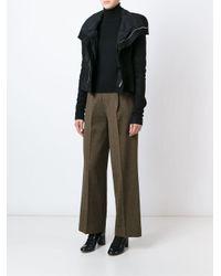 Jean Paul Gaultier - Brown Wide Leg Trousers - Lyst
