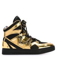 Marc By Marc Jacobs | Metallic 'ninja' Hi-top Sneakers | Lyst