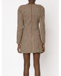 Y. Project - Brown - Tweed Bustier Dress - Women - Acetate/viscose/wool - 38 - Lyst