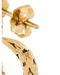 Aurelie Bidermann - Metallic Mini 'tao' Hoop Earrings - Lyst