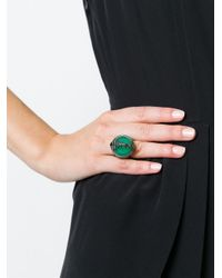 Stephen Webster | Green Spiked Spine Cocktail Ring | Lyst