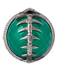Stephen Webster | Metallic Spiked Spine Cocktail Ring | Lyst