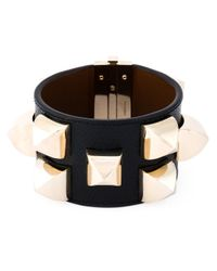 Givenchy | Black Studded Cuff | Lyst