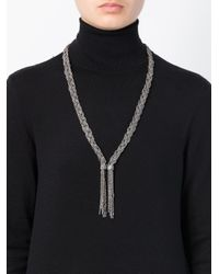 Aurelie Bidermann - Metallic 'miki Dora' Long Necklace - Lyst