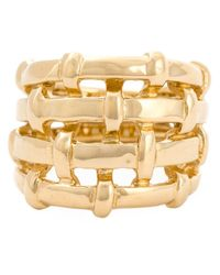 Aurelie Bidermann | Metallic 'marella' Ring | Lyst