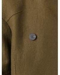 Haider Ackermann - Blue Off-centre Fastening Jacket - Lyst