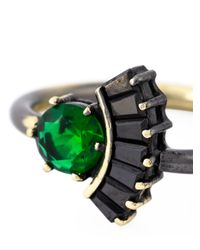 Iosselliani - Black 'all That Jewels' Ring - Lyst
