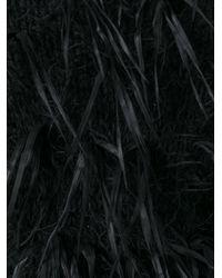 Issey Miyake - Black Shaggy Cardigan - Lyst