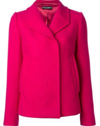 Dolce & Gabbana - Multicolor Fitted Jacket - Lyst