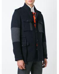 Wooster + Lardini - Gray Patch Pocket Jacket for Men - Lyst
