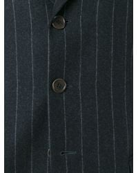 Moschino - Black Pinstriped Jacket for Men - Lyst