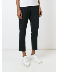 6397 - Blue Cropped Trousers - Lyst