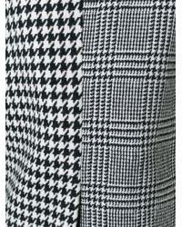 Edun - Gray Houndstooth Pattern Blazer - Lyst
