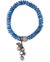 Loree Rodkin | Blue Embellished Diamond Bracelet | Lyst