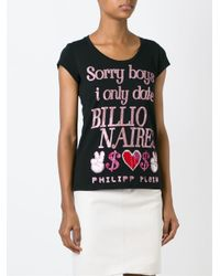 Philipp Plein - Black 'sorry Boys' T-shirt - Lyst