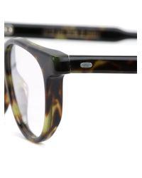 Cutler & Gross | Brown Rectangular Frame Glasses | Lyst