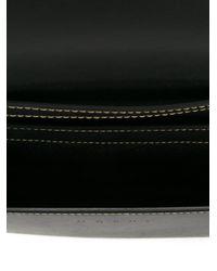 Marni - Black Bow Detail Paneled Shoulder Bag - Lyst