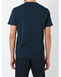 DIESEL - Blue Print T-shirt for Men - Lyst