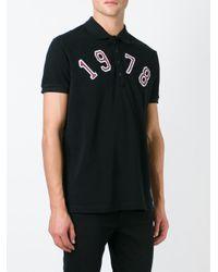 DIESEL   Black 1978 Classic Polo Shirt for Men   Lyst
