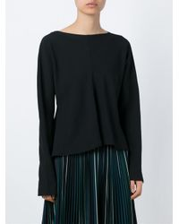 Marni - Black Loose Top - Lyst
