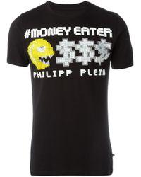 Philipp Plein | Black 'money Eater' T-shirt for Men | Lyst