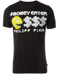 Philipp Plein | Black T-shirt for Men | Lyst