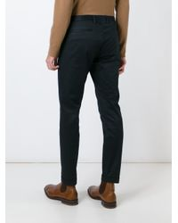 Paul Smith - Blue Classic Chinos for Men - Lyst