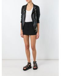 Vetements - Black Mini Skirt - Lyst