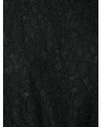 Diane von Furstenberg - Black Lace Jumpsuit - Lyst