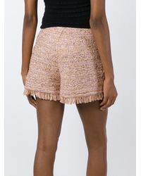 M Missoni - Multicolor Frayed Knit Shorts - Lyst