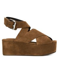 752330b057f Alexander Wang. Women s Brown  rudy  Sandals. See more Leather Wedge ...