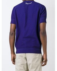 DSquared² - Blue Dan Print Sweatshirt for Men - Lyst