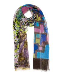 Pierre Louis Mascia | Multicolor Printed Scarf | Lyst