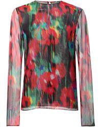Jason Wu | Multicolor - Floral Print Blouse - Women - Silk - 8 | Lyst