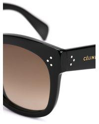 Céline - Black 'new Audrey' Sunglasses - Lyst