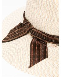 Baja East - Natural Straw Hat - Lyst