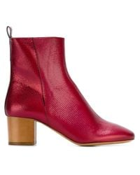 Isabel Marant | Red Étoile 'drew' Ankle Boots | Lyst