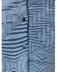 Cecilia Prado - Blue Tricot Woven Blouse - Lyst
