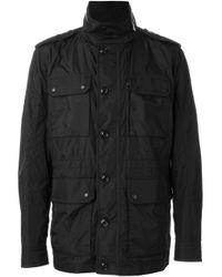Moncler   Black 'lenoir' Padded Jacket for Men   Lyst