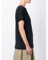 Sofie D'Hoore - Blue Scoop Neck T-shirt - Lyst