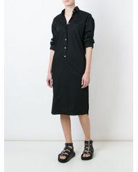 Vetements - Black Oversized Sleeve Shirt Dress - Lyst