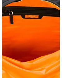 Etro - Black Paisley Print Backpack - Lyst