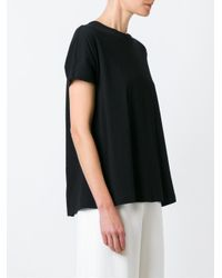 Proenza Schouler - Black Back Bow T-shirt - Lyst