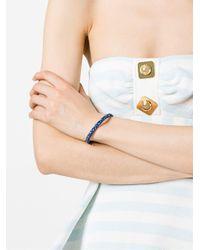 Aurelie Bidermann - Blue Braid Bracelet - Lyst
